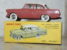 Jouet Ancien Dinky Toys Opel Rekord Réf 554 en boite