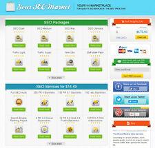 SEO Services Reseller Business Website + Free Hosting