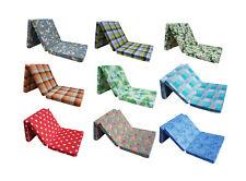 Materasso pieghevole materassini per ospiti singolo futon puf 195 x 65 x 10cm Co