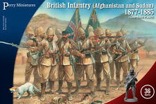 **BNIB** PERRY MINIATURES BRITISH INFANTRY AFGHANISTAN AND SUDAN 1877 - 1885