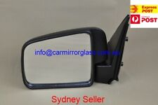 NEW DOOR MIRROR FOR FORD COURIER 1999-2006 (BLACK, MANUAL)
