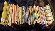 Vintage Weekly Reader Children's Book Large Lot of 43 hardcover 1960 - 1980's