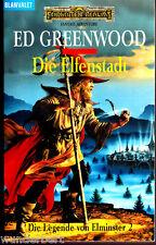 """Ed Greenwood - """" Die Legende von Elminster 2 - Die ELFENSTADT """" (2003) - tb"""