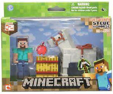 Minecraft Steve And Horse Pack Figure GIOCHI PREZIOSI