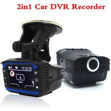 "1080P 2"" Car DVR Dash Cam Video Camera Recorder Radar Laser Speed Detector Alert"