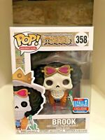 BROOK NYCC 2018 FALL CONVENTION LIMITED EXCLUSIVE FUNKO POP ONE PIECE ANIME #358