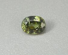 Sphen  grün 2,22 ct Titanit  Sphene green Titanite   koxgems
