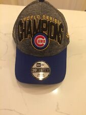 Chicago Cubs Champions Flex World Series Stretch Cap Z0325