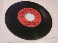 """[1961] Jimmy Dean: Big Bad John [VG+] 45 RPM, 7"""" vinyl record, Columbia, Country"""