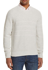 The Men's Store at Bloomingdale's Chunky Stitch Striped Cotton Sweater, L , $98
