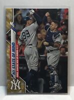 2020 Topps Series 2 - Gold Star Set - #591 NY State of Mind - Yankees - SP