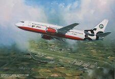 GO BOEING 737 EASY JET BRITISH AIRWAYS AIRLINER PRINT