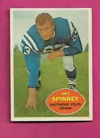 1960 TOPPS # 7 COLTS ART SPINNEY  EX-MT CARD (INV# C0528)