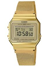 Unisex Casio Classic Gold Toin Vintage Watch #A700WMG-9AVT