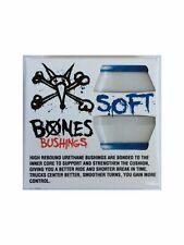 Bones Hardcore Skateboard Bushings Soft White 81a, Two Sets