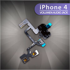 Auriculares con hembra para Apple iPhone 4 Audio Jack cable Flex interruptor Mute vibrador