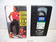 Michael Jordan Air Time VHS Video Out Of Print Chicago Bulls