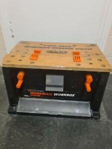 Vintage Black & Decker Workmate Workbox Wm450 Toolbox Hopup