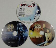 DVD Movie Discs Attack of the Clones & Extreme Ops Discs Only Used FREE SHIPPING