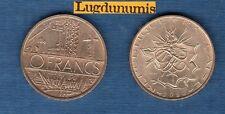 10 Francs Mathieu 1980 de Qualité SUP Liberté Egalité Fraternité sur la Tranche