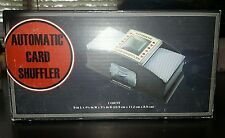 2 Deck Card Shuffler Automatic Shuffles One Touch Button new athritis cards