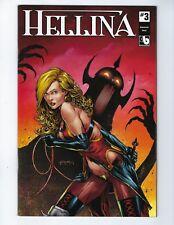 HELLINA # 3 (Boundless Comics, KICKSTARTER COVER, June 2016), NM NEW