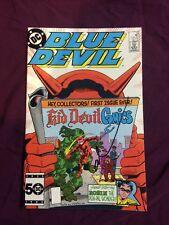 blue devil #19 signed by gary cohn rare dc comics comic book cool vintage sweet!