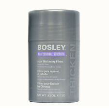 Bosley Professional Strength Hair Thickening Fibers 0.42 oz. Black - NEW
