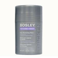Bosley Professional Strength Hair Thickening Fibers 0.42 oz. Black - NEW