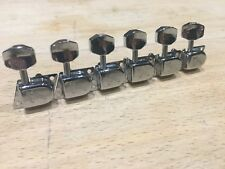 Fender Stratocaster Strat Tele Telecaster Replacement Reissue F Tuners 1970's