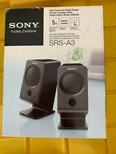 Sony SRS-A3 Multimedia Computer Speakers - Good - Fast Free Shipping!!!