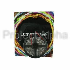LumenWave 5M RGB 3828 SMD IP65 Waterproof Flexible LED Strip Lights - White PCB
