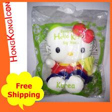 Hello Kitty Dear Daniel McDonald's World Cup Reversible Plush Doll Korea Big Mac