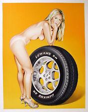 Mel Ramos - Tyre Tire - 2004, Pop Art Grafik Lithografie, Luxus