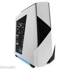NZXT NOCTIS 450 GLOSS WHITE USB 3.0 TOWER PC GAMING COMPUTER CASE & COOLING FANS