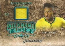 Neymar Leaf In the Game Used Jersey Sapphire 3/7 Brazil Paris Saint-Germain PSG