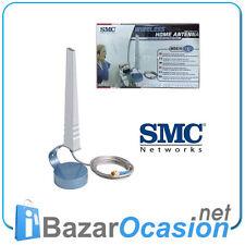Wireless Home Antena Omni Directional 4DBI SMC SMCHMANT-4 802.10b/g New