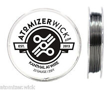 Kanthal 22 Gauge AWG A1 Wire 25ft Spool 0.64mm, 1.31 Ohms/ft Resistance