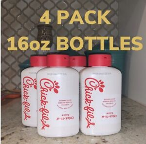 4 Chick-fil-A Sauce 16 Oz Limited Edition Free Shipping!! Chik Fil A