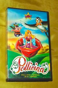 POLLICINA VHS STARDUST FILM TOEI ANIMATION '90 FAVOLA ANDERSEN