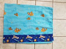 Disney Finding Nemo Twin Flat Sheet Marlin Clown Fish