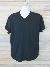 Michael Kors XL solid black basic t-shirt 100% Cotton Mens X-Large