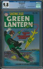 SHOWCASE #22 CGC 9.8 (1999) DC Green Lantern reprint white pages