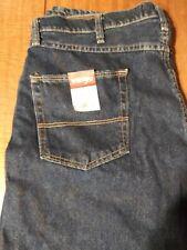 New Wrangler Relaxed Blue Jeans, 38x34