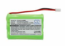 GP100AAAHC3BMJ Battery For Audioline Baby Care V100 G10221GC001474