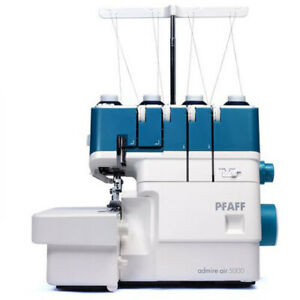 Pfaff Overlocker Air Threader Amber Air 5000 BNIB Serger