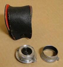 Leitz Elmar f=3.5cm 1:35 Lens, 1948 #678105 with Leitz Wetzler Hood