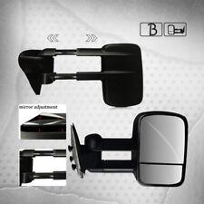 Manual Telescoping Towing Mirror Pair fits 99-06 Chevy Silverado GMC Sierra