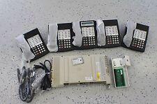 Avaya Lucent Partner ACS Business Phone System 5 Phones Refurbished