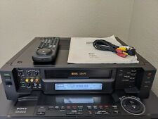 New ListingRefurbished! Sony Svo-2000 S-Vhs Svhs Player Recorder HiFi Stereo Vcr Ntsc